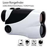 Golf Rangefinder - Yukiss® R10D-1000 Laser Rangefinder(6 X 25m) with 5 Modes - Flagseeker / Pinseeker - Scan - Hunting - Rain - Standard. The Best Hunting Rangefinder and Optical Rangefinder.