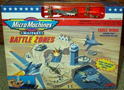 Buy Low Price Galoob Eagle Ridge Micro Machines Military Battle Zones Playset Figure (B000Y3RSD0)