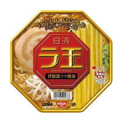 日清 ラ王 背脂濃コク醤油 114g