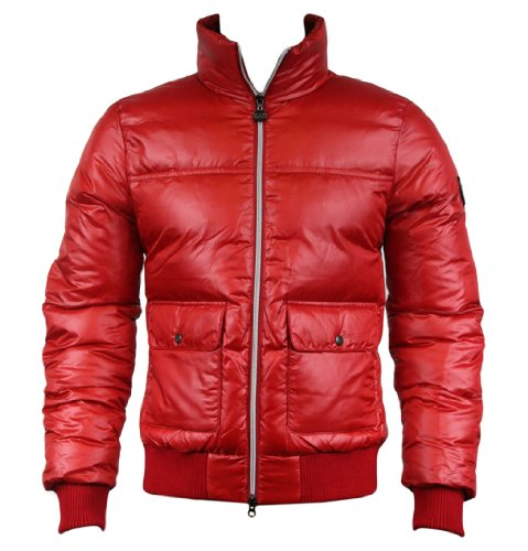 Emporio Armani EA7 271360 2A341 Mens Down Quilted Jacket Red M