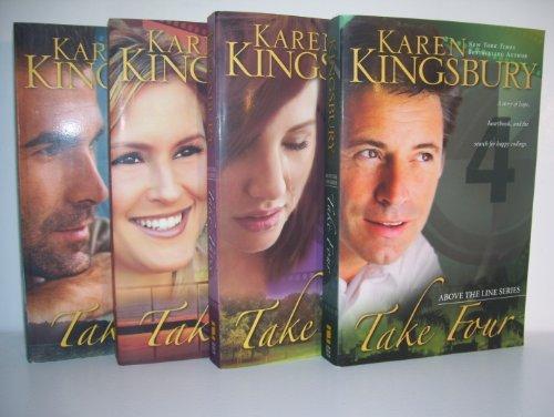 Image of Karen Kingsbury Above the Line Series Complete--Take One/ Take Two/ Take Three/ Take Four--Paperback