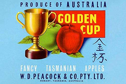"""""""Golden Cup"""" Print (Unframed Paper Print 20x30)"""