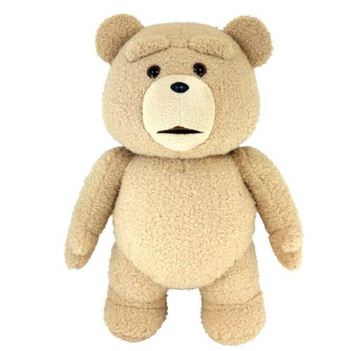 Ted 2 Ted 24-Inch R-Rated Talking Plush Teddy Bear
