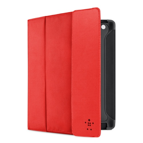 Belkin Storage Folio Case / Cover with Stand for the Apple iPad with Retina Display (4th Generation) & iPad 3 (Red) (Ipad Retina Display Cases Belkin compare prices)
