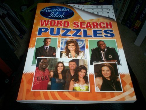 American Idol Big Book of Word Search Puzzles