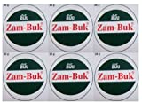 6x36g =216g ZAMBUK ZAM BUK HERBAL BALM INSECT ITCH BITE PAIN RELIEF OINTMENT