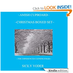 Amish Cupboard Christmas Boxed Set