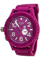 Nixon Rubber 51-30 Watch - Men's Shocking Pink, One Size