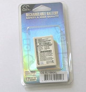Zaurus SL-C1000 SL-C3000 SL-C3200 の EA-BL11 / EA-BL08 対応バッテリー 2000mAh