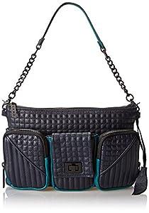 L.A.M.B. Eden Shoulder Bag,Midnite,One Size