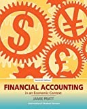img - for Financial Accounting in an Economic Context. Jamie Pratt book / textbook / text book