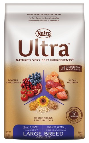Ultra Dog Large Breed Adult Dog Food, 30-Pound