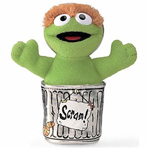 Sesame Street Oscar the Grouch Stuffed Animal by Gund - 1