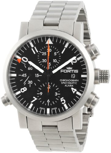 Fortis Men's 627.22.11 M Spacematic Automatic Chronograph Alarm Watch