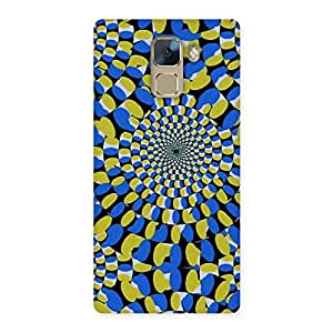 Classic Illusion Back Case Cover for Huawei Honor 7
