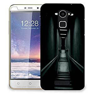Snoogg Downstairs Designer Protective Phone Back Case Cover For Coolpad Note 3 Lite