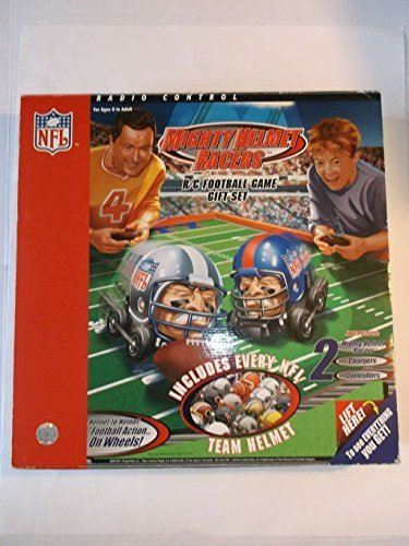 Mighty Helmet Racers R/C Football Game With Playing Field Gift Set. 2004 edition. NFL by Pro Specialties Group bestellen