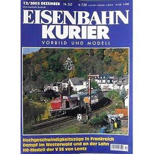 Eisenbahn-Kurier 12 / 2002 Vorbild und Modell [Taschenbuch]