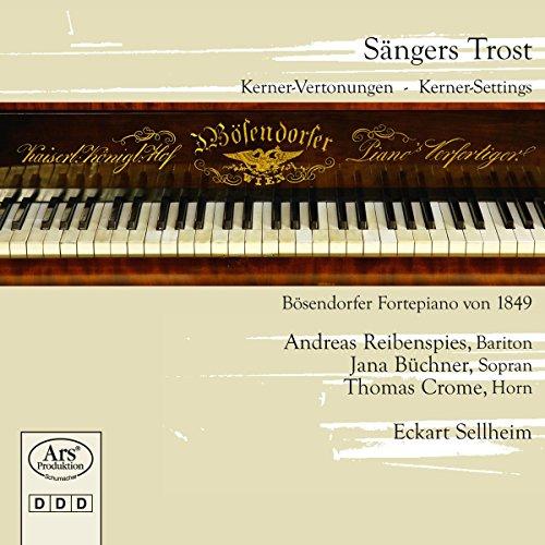 Image of Sängers Trost - Kerner-Vertonungen