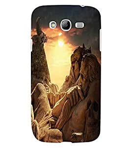ColourCraft Amazing Stone Art Design Back Case Cover for SAMSUNG GALAXY GRAND I9082