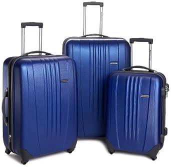 Travelers Choice Luggage Toronto Three Piece Hardside Spinner Luggage