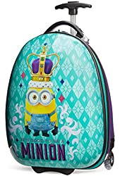Universal Studios by Travelpro Minions Kid's Hard Side Luggage (One size, Royal)
