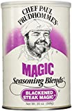 Chef Paul Prudhomme's Magic Seasoning Blends ~ Blackened Steak Magic, 20-Ounce Canister