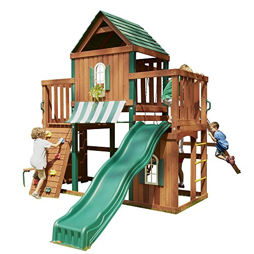 Winchester Wood Complete Play Set (Wooden Playhouse With Slide compare prices)
