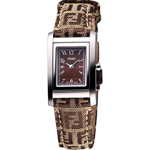 Fendi Loop Small Square Ladies Quartz Watch - F778222
