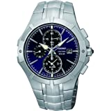 Seiko Men's Coutura, Sainless Steel, Blue Dial SSC197P9