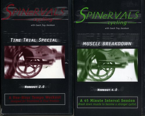 SPINeRVALS Cycling  troy jacobson set 2 vhs:SPINeRVALS