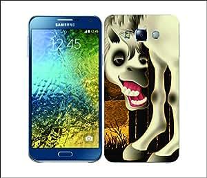 Galaxy Printed 2296 LongLegged Horse Hard Cover for Samsung A3