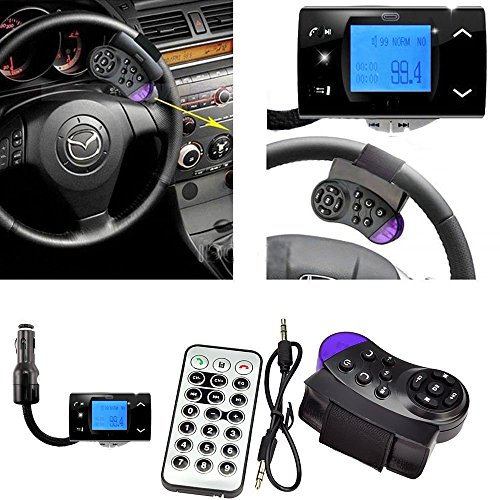 Ckeyin Wireless In-Car Bluetooth Fm Transmitter For Sd Card / Usb Stick / Mp3 Players With Remote Control