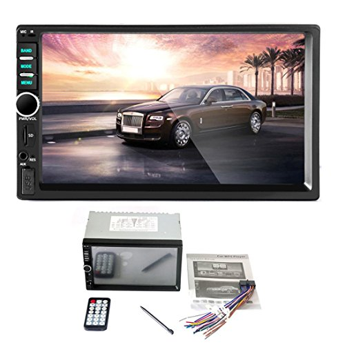 Car MP5 Player ,TOOPOOT In-Dash Bluetooth Car Stereo Audio Aux Input Receiver SD/USB MP5 Player (Stereo Car compare prices)