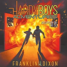 Deception on the Set: Hardy Boys Adventures, Book 8 Audiobook by Franklin W. Dixon Narrated by Tim Gregory