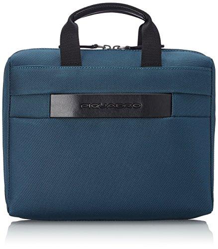 Piquadro Move 2 Beauty Case da Viaggio, Sintetico, Blu, 26 cm