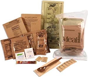 Sure-Pak Genuine GI US Military MRE Complete Meals with Heaters by Rothco