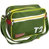 Retro Green Thunderbirds Messenger Bag