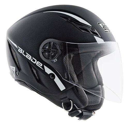 AGV エージーブイ Blade Solid Helmet ジェットヘルメット マットブラック L(59~60cm)