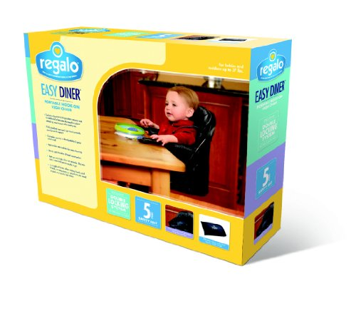 Regalo Easy Diner Portable Hook On Highchair Navy