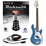 Rocksmith (PS3) 3/4 G-4-elektrische Bassgitarre in blau