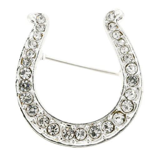 Silver Horseshoe Pin Fashion Pin Brooch