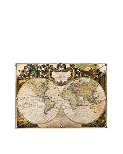 Mappe Monde Nouvelle by Ginger Canvas Print