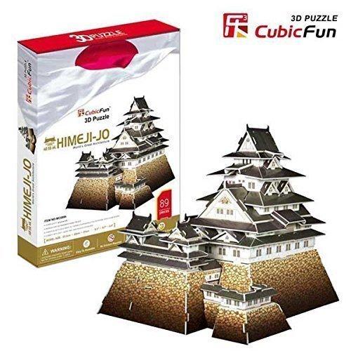 Easter Gift,Himeji-jo,Plastic Model, 3d Puzzle, - 1