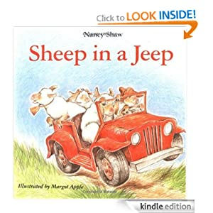 Kindle Book Bargains: Sheep in a Jeep, by Nancy E. Shaw (Author), Margot Apple (Illustrator). Publisher: Houghton Mifflin Harcourt (December 15, 2009)