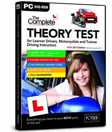 The Complete Theory Test for Learner Drivers, Motorcyclists and Trainee Driving Instructors New 2013 Edition (PC)