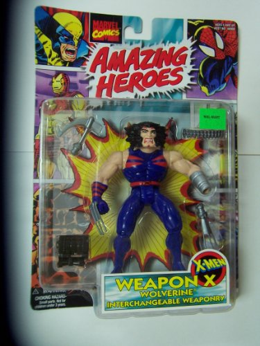 Wolverine Interchangeable Weaponry - 1997 Marvel Comics Amazing Heroes Series