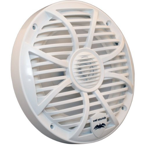 "Wet Sounds Sw Series 6.5"" White Marine Coaxial Speaker - 120 Watts Max / 60 Watts Rms"