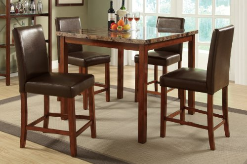 gtgtgtSale Marble Dining Table 4 Counter Height Chairs by  : 51UQXJ1rNLL from sites.google.com size 500 x 333 jpeg 38kB