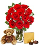 From You Flowers - One Dozen Red Rose...